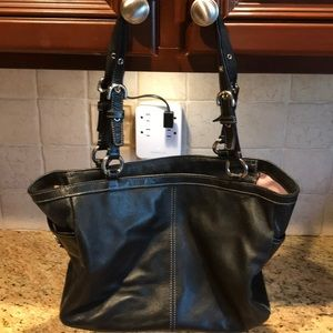 Coach Bags - Used black Coach pocketbook